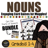 Harry Potter Themed Classroom -  Nouns Board Game Bundle