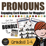 Harry Potter Themed Classroom -  Pronouns Card Game Bundle