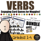 Harry Potter Themed Classroom - Verbs Board Game