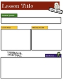 Harry Potter Themed Classroom - Lesson Plan Template