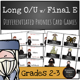 Harry Potter Themed Classroom - Long O & U with Final E  Phonics Card Game