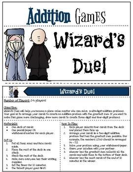 Harry Potter Themed Classroom -  MEGA PACK - No Prep Math Games