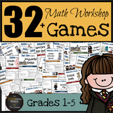 Harry Potter Themed Classroom -  MEGA PACK - No Prep Math Games