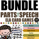 Harry Potter Themed Classroom - Parts of Speech Card Game Mega Bundle