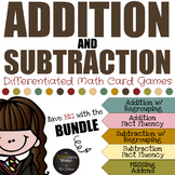Harry Potter Themed Classroom - Add/Sub Card Game Pack - V