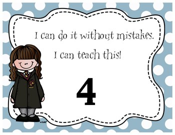 Harry Potter Themed Classroom - Student Self Assessment Poster Pack