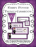 Harry Potter Themed- Classroom Tags