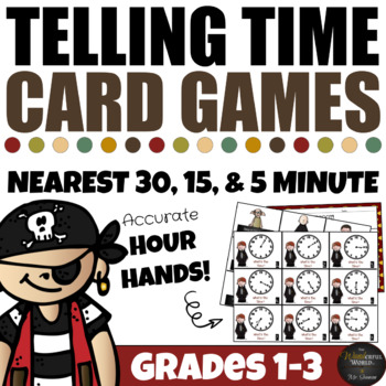 Harry Potter Themed Classroom -  Telling Time Board Games MEGA PACK