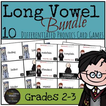 Harry Potter Themed Classroom - Unit 2  Phonics Card Games