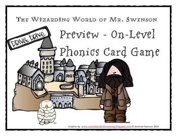 Harry Potter Themed Classroom - Unit 4 Phonics Card Games