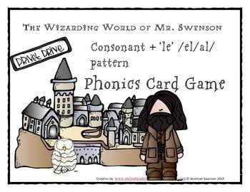 Harry Potter Themed Classroom - Unit 6 Phonics Card Games