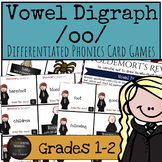 Harry Potter Themed Classroom - Vowel Digraph /oo/ Phonics Card Games