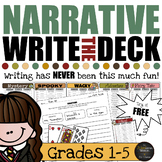 Write the Deck - Narrative Writing Activities GROWING Bundle