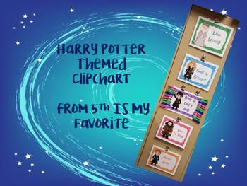 Harry Potter Themed Clip Chart