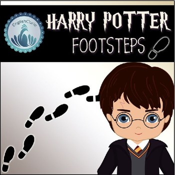 Harry Potter Themed Decoration - Footsteps