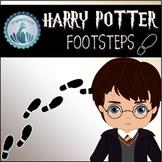 Harry Potter Decoration - Footsteps