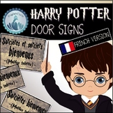 Harry Potter Door Signs (FRENCH VERSION)