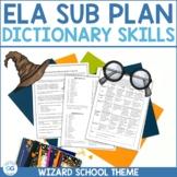 Harry Potter-Themed Emergency Sub Plan | ELA | 7th - 10th