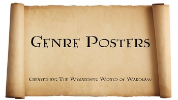 Harry Potter Themed Genre Posters