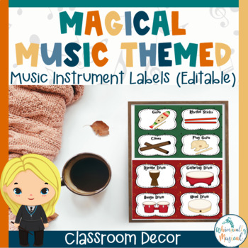 Harry Potter Themed Instrument Labels