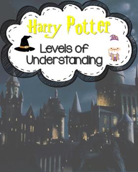 Harry Potter Themed Levels of Understanding