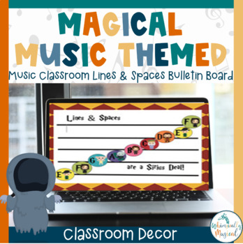 Harry Potter Themed Lines & Spaces Music Bulletin Board