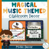 Harry Potter Themed Music Classroom Set