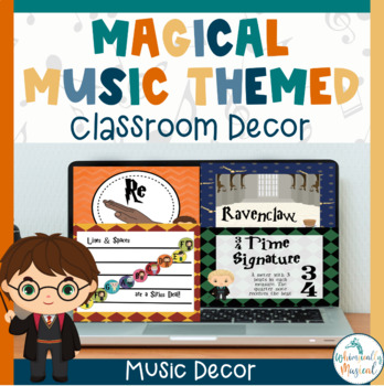 Harry Potter Themed Music Classroom Set