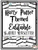 Harry Potter Themed Newsletter