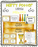 Harry Potter Themed Party Pack