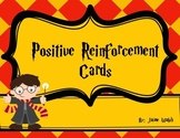 Harry Potter Themed Positive Reinforcement Cards