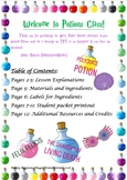 Harry Potter Themed Potions Chemistry Lesson