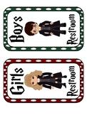 Harry Potter Themed Restroom Pass
