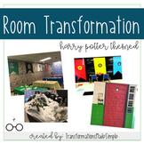 Harry Potter Themed Room Transformation