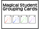 Harry Potter Themed Student Grouping Cards