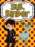 Harry Potter Themed Sub Binder