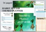 Harry Potter Themed Teacher Planner 2017-2018