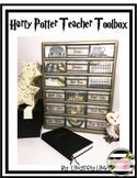 Harry Potter Themed Teacher Toolbox Labels