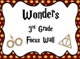 Harry Potter Themed Wonders Focus Wall - 3rd Grade