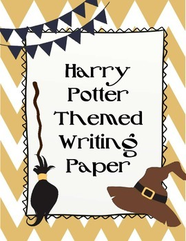 Harry Potter Themed Writing Paper