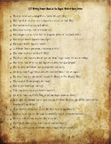 Harry Potter Themed Writing Prompts