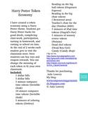 Harry Potter Token Economy