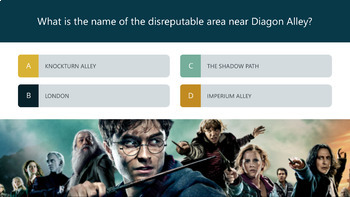 Harry Potter Trivia - Interactive PowerPoint [50 Questions]