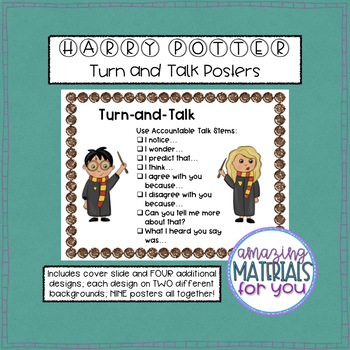 Harry Potter Turn-and-Talk Posters