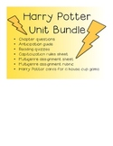 Harry Potter Unit Bundle