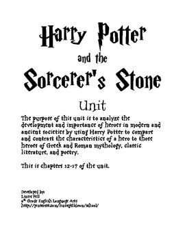 Harry Potter Unit Chapters 12-17