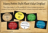 Harry Potter 'Vintage' Style Place Value Display