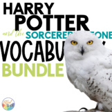 HARRY POTTER Novel Study VOCABULARY Bundle   Distance Lear