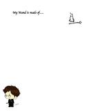 Harry Potter Wand Writing Activity