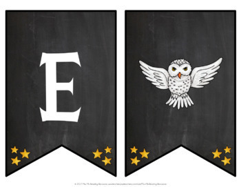 Harry Potter Welcome Banner EDITABLE
